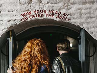 Visitors visiting Smithwicks Experience Tour in Kilkenny